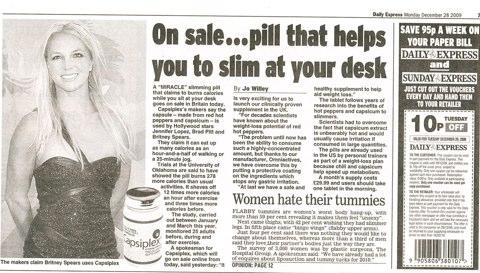 Capsiplex Slimming Pills