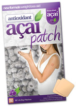 Acai slimming patch