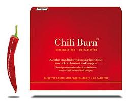 Chili Burn slimming pills